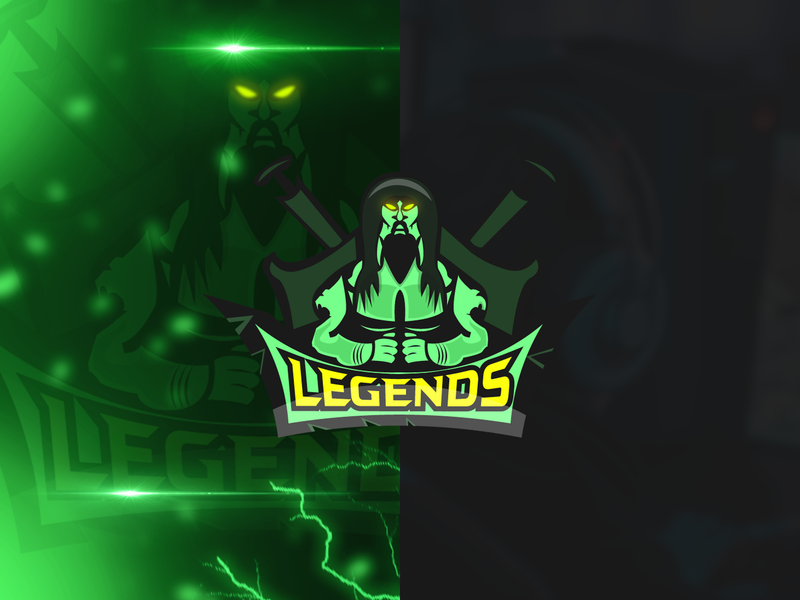 Mascot Logo Legends by Youssouf Grafico on Dribbble.