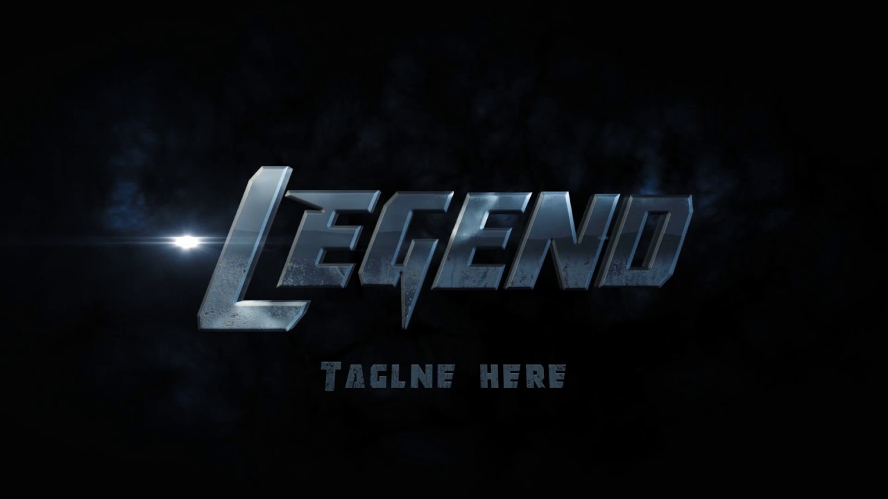Legend Logo Reveal.