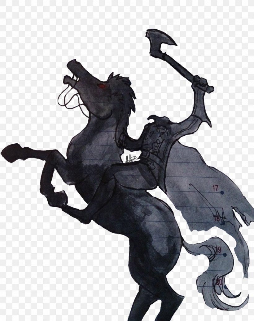 The Legend Of Sleepy Hollow Headless Horseman, PNG.