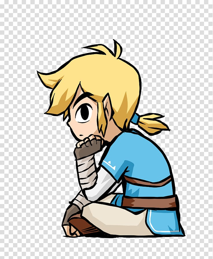 The Legend of Zelda: Breath of the Wild Link Super Smash.
