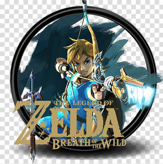 Zelda Breath Of The Wild icon, The Legend of Zelda Breath of.