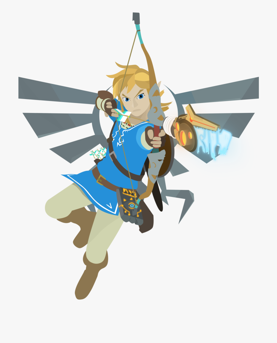Legend Of Zelda Breath Of The Wild Png , Transparent Cartoon.