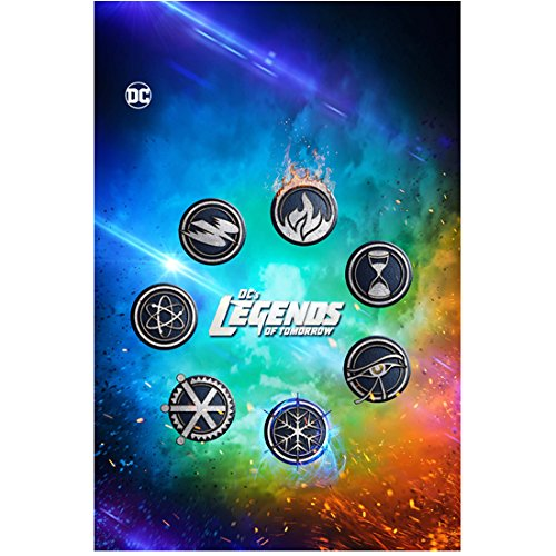 Amazon.com: Legends of Tomorrow hero logo promo 8 x 10 Inch.
