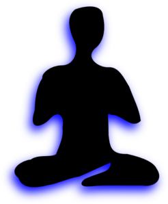 Yoga Sitting Cross Legged Clip Art at Clker.com.