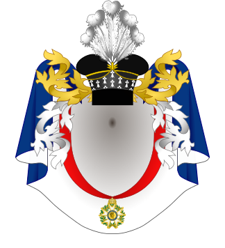 Armorial des comtes sénateurs de l'Empire.