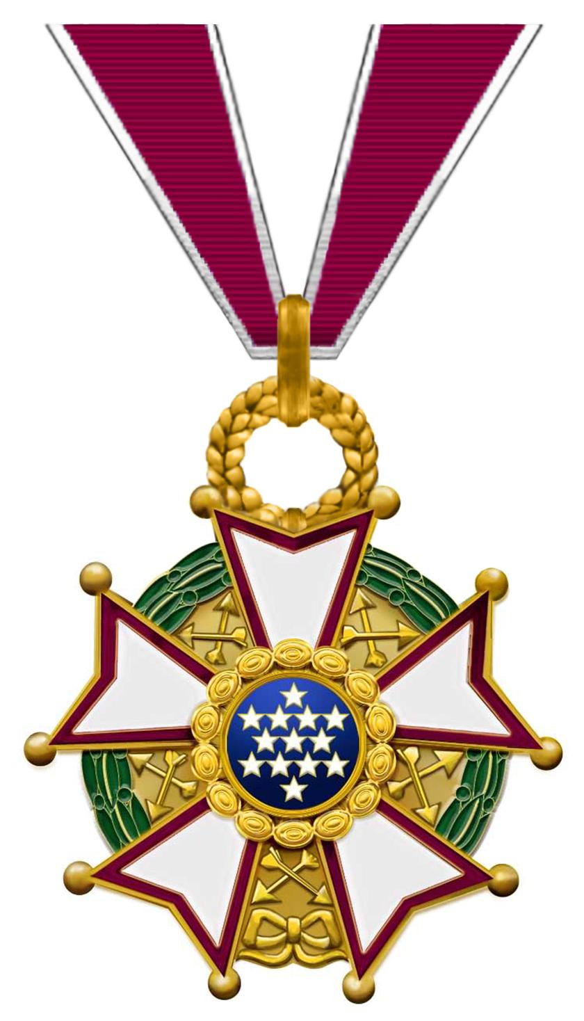 Legion of Merit.