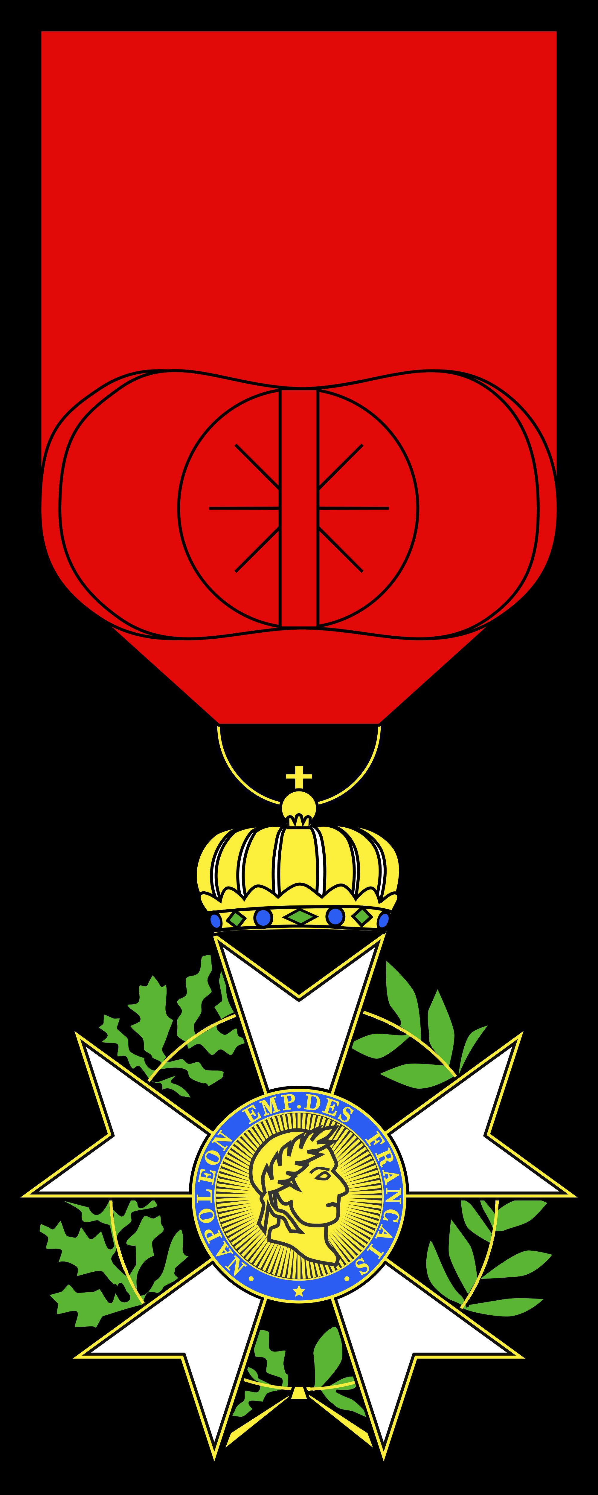 File:Légion d'honneur Officier Type 2.svg.