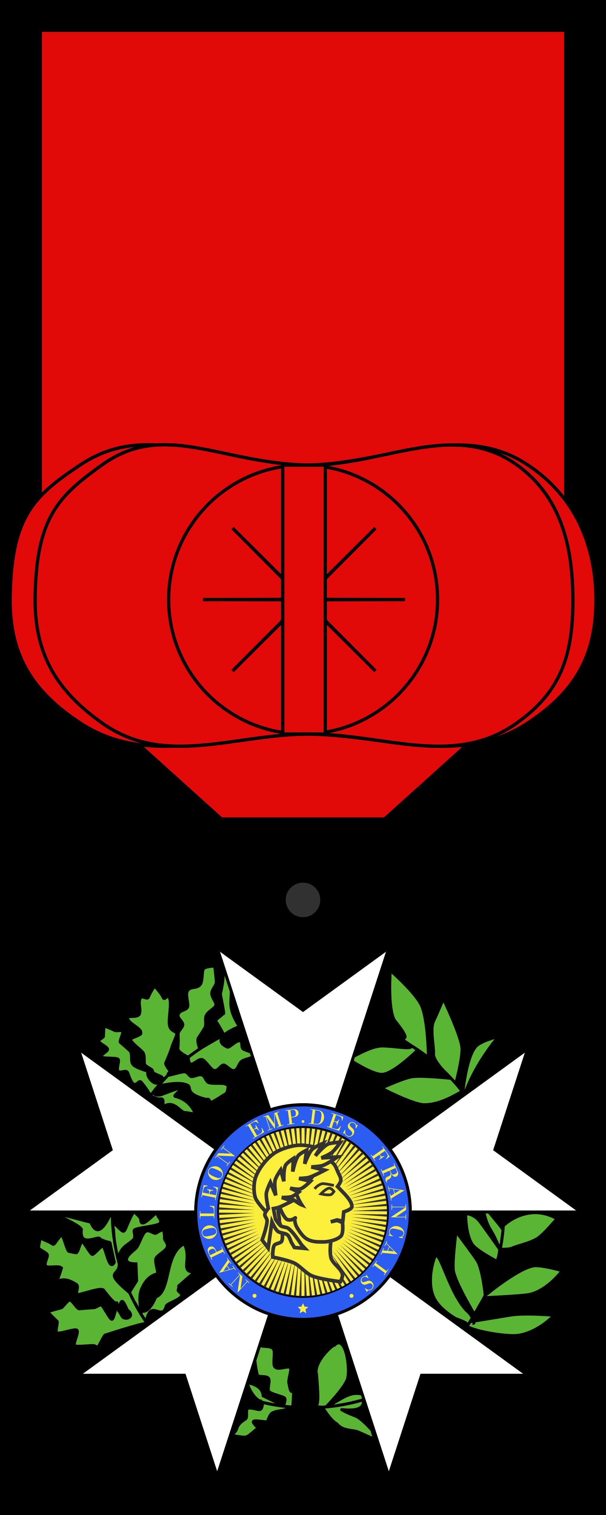 File:Légion d'honneur Chevalier Type 1.svg.