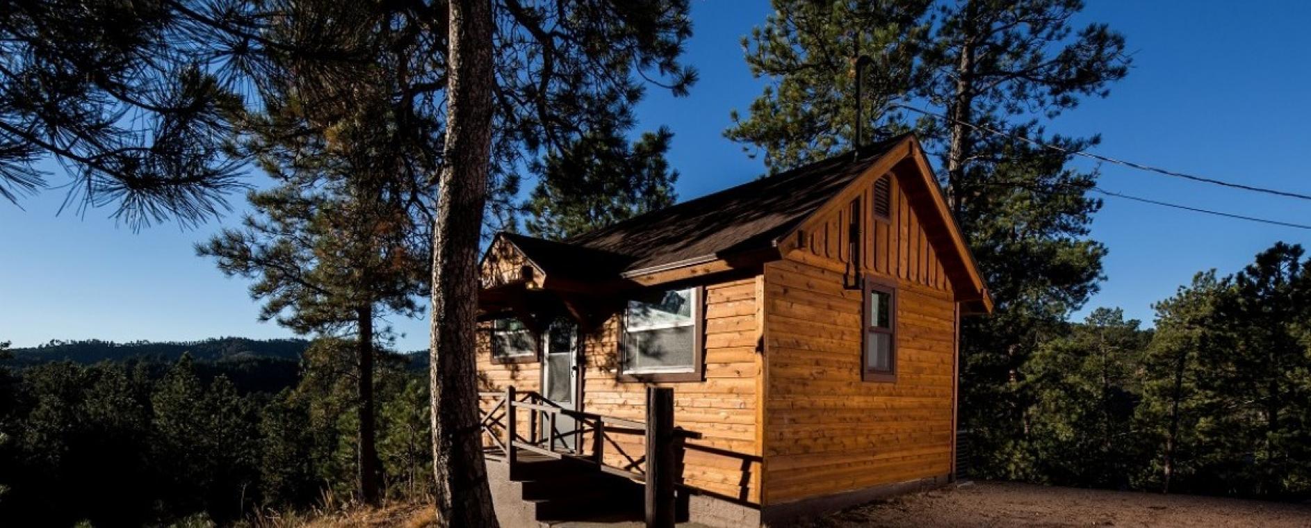 Legion Lake Lodge at Custer State Park Resort.