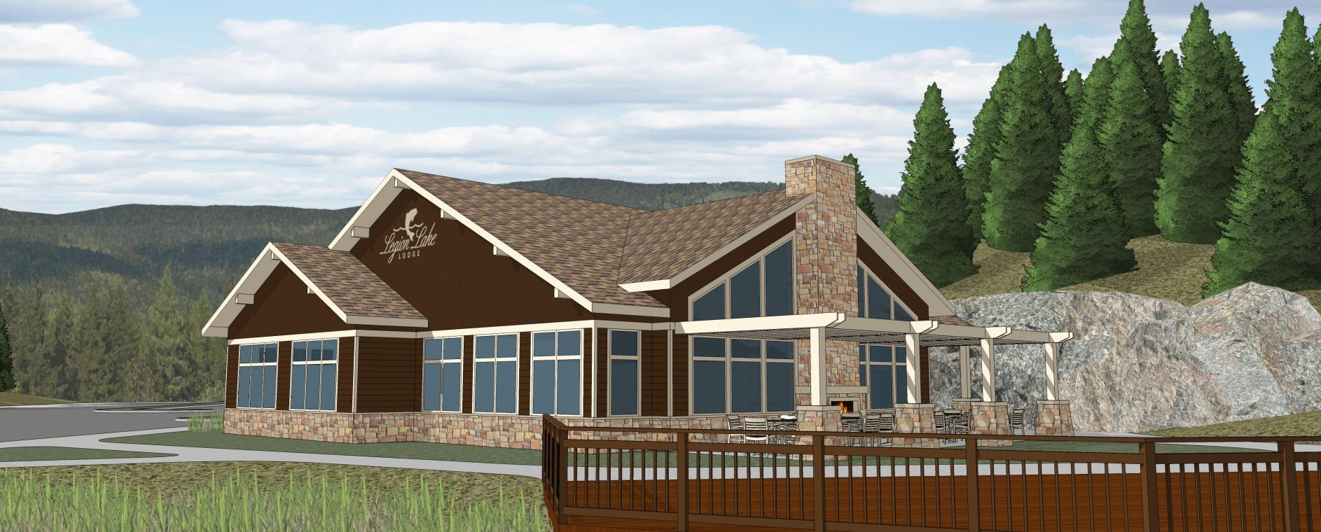 Legion Lake Lodge.