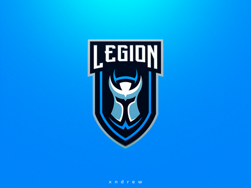 Legion logo by Xndrew on Dribbble.