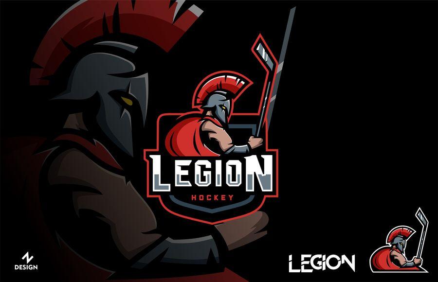Entry #64 by OlexandroDesign for Legion Hockey Team Logo.