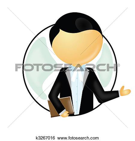Stock Illustration of lawyer k3267016.