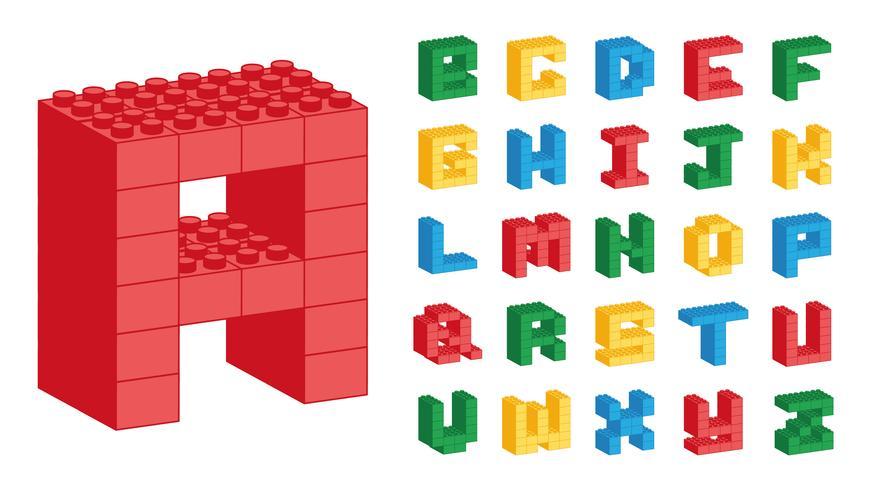 Lego Alphabet.