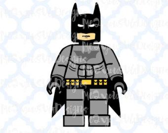 Lego batman svg.