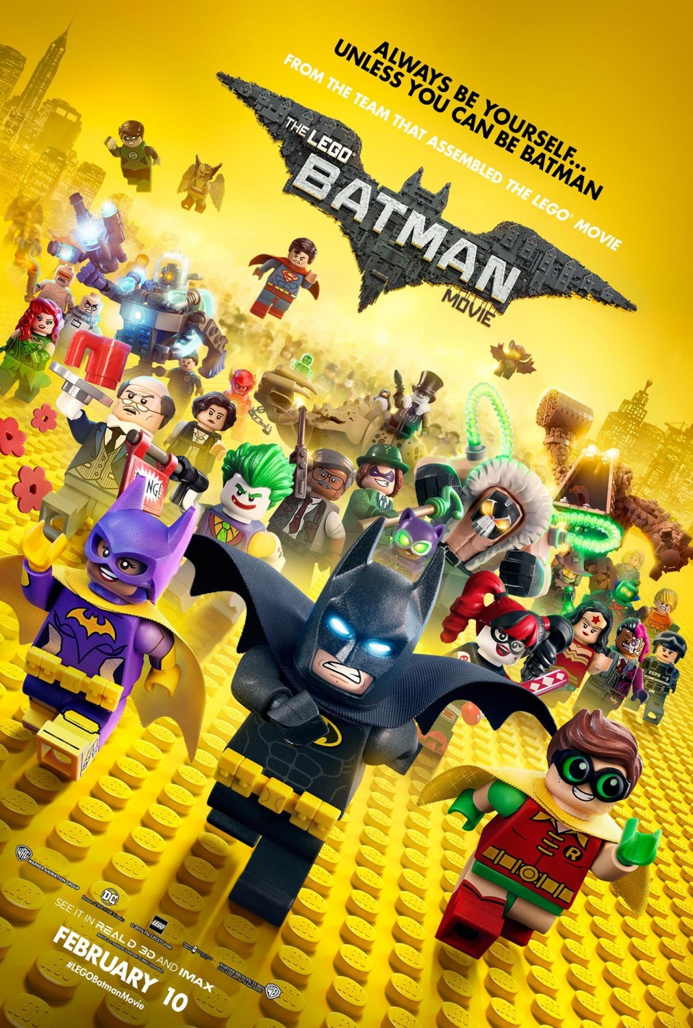 The Lego Batman Movie (2017).