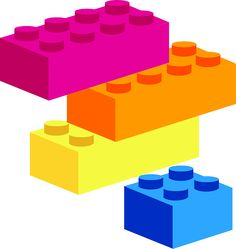 Lego Bricks clip art.