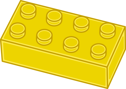 Lego brick clipart free.