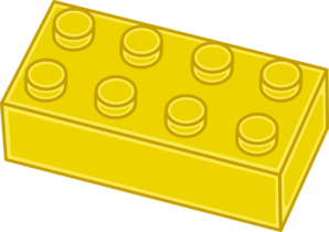 Lego brick for stencil.