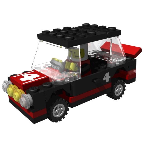 Lego Car Clipart.