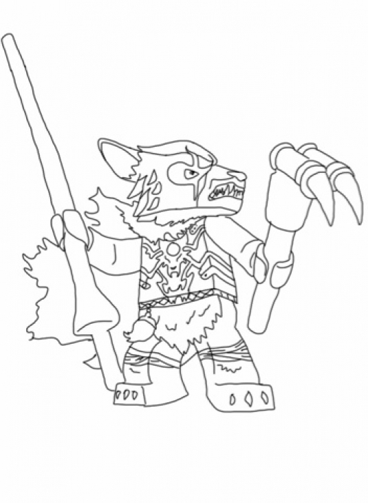 Lego Chima Coloring Pages Lion
