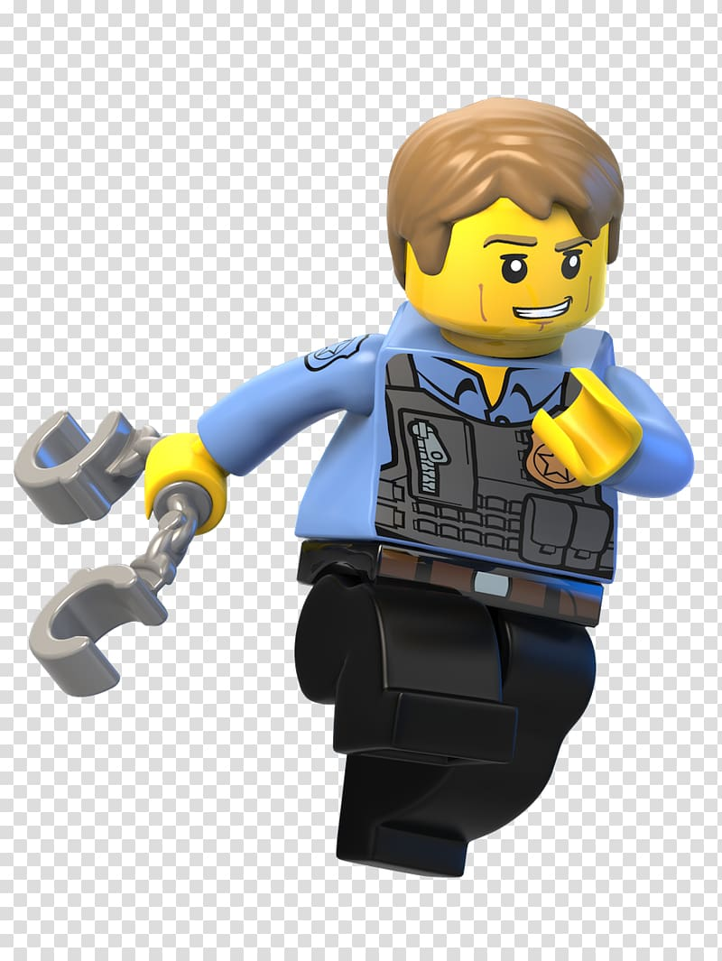 Male Lego character toy, Lego City Undercover: The Chase.