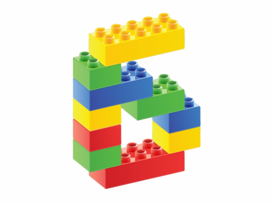 Number 8 In Legos.
