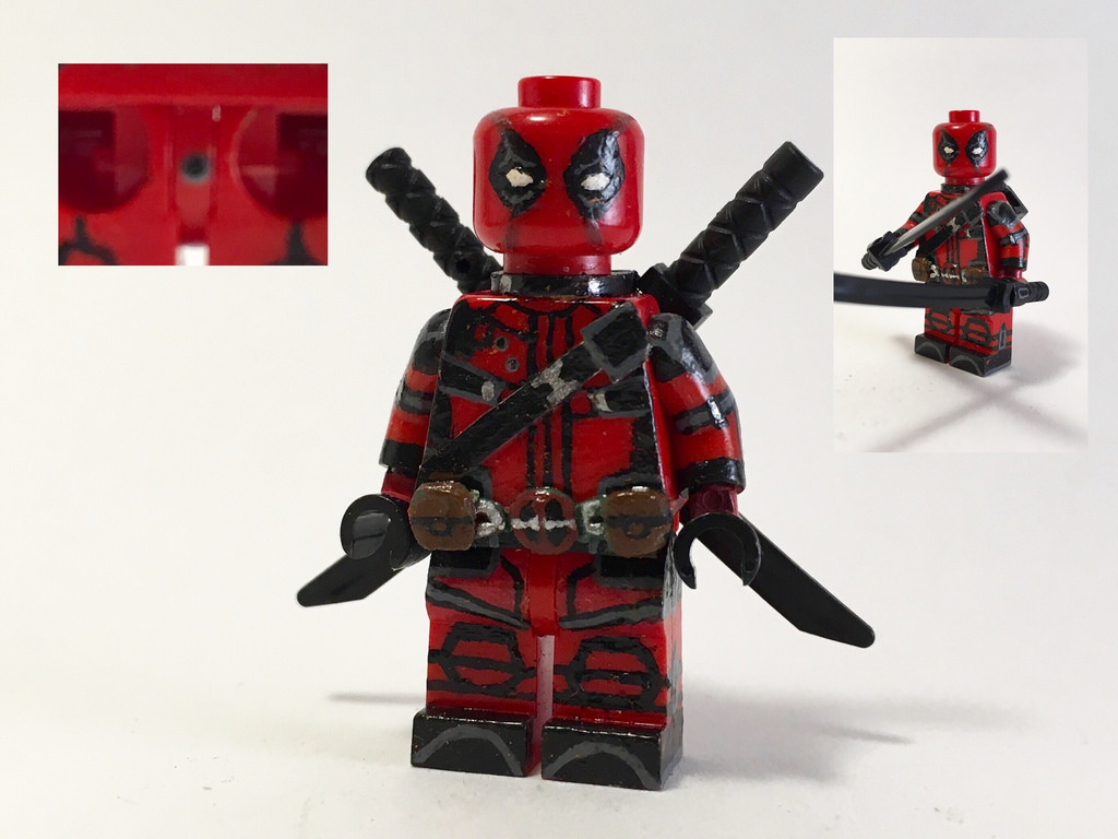 Lego Deadpool Clipart Clipground