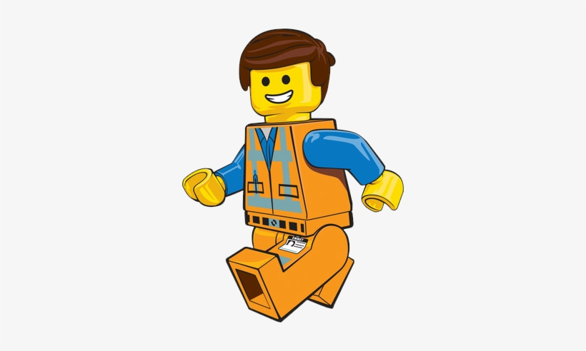 Emmet Lego Movie Free Vector.
