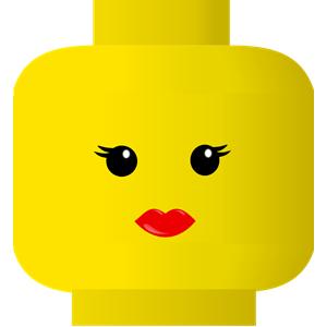 FREE SVG LEGO smiley.