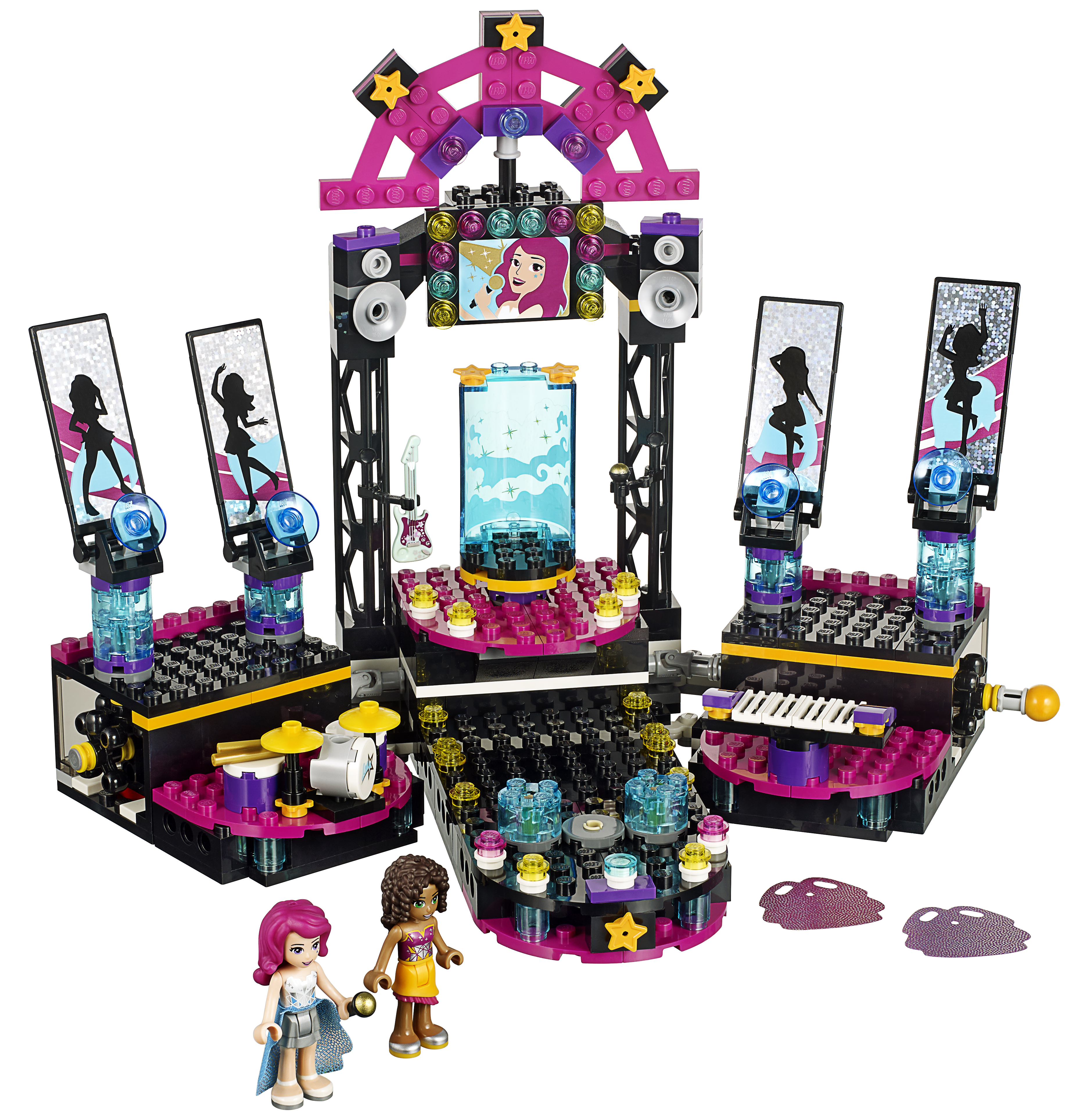 LEGO Friends Popstar Showbühne 41105.