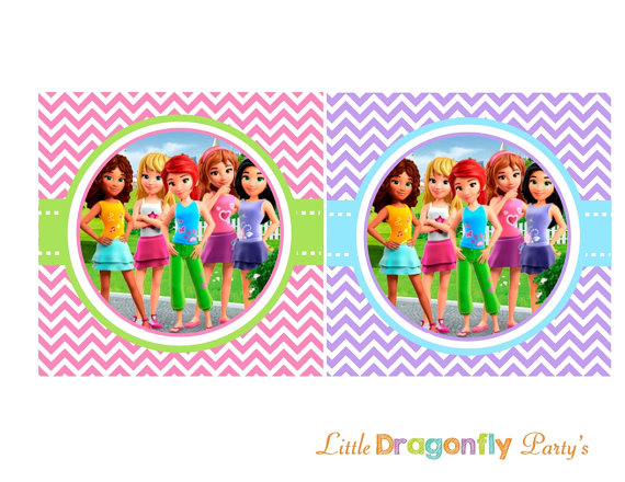 Clipart Lego Friends.