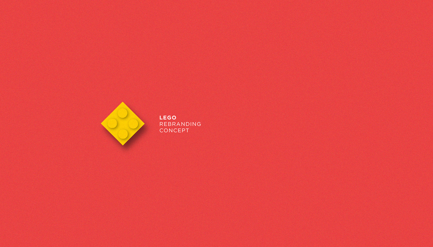 LEGO Logo Design Concept on Behance.
