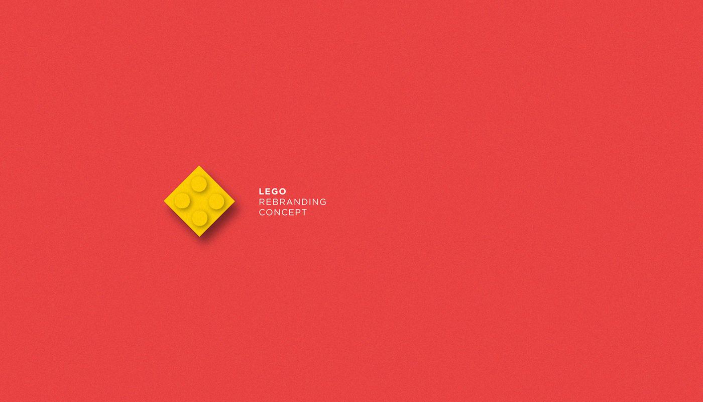 LEGO Logo Design Concept on Behance.