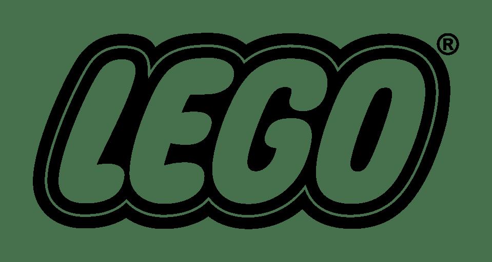 Lego Logo transparent PNG.
