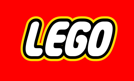 Create your own logo that looks like the Lego logo. Also.