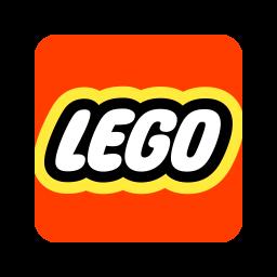 Lego Logo Icon of Flat style.