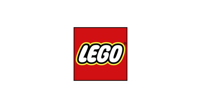 Evolution of the LEGO logo.