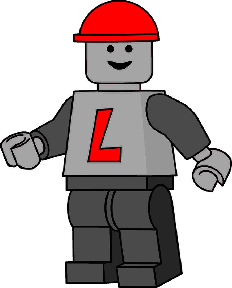 Lego Man Clipart.
