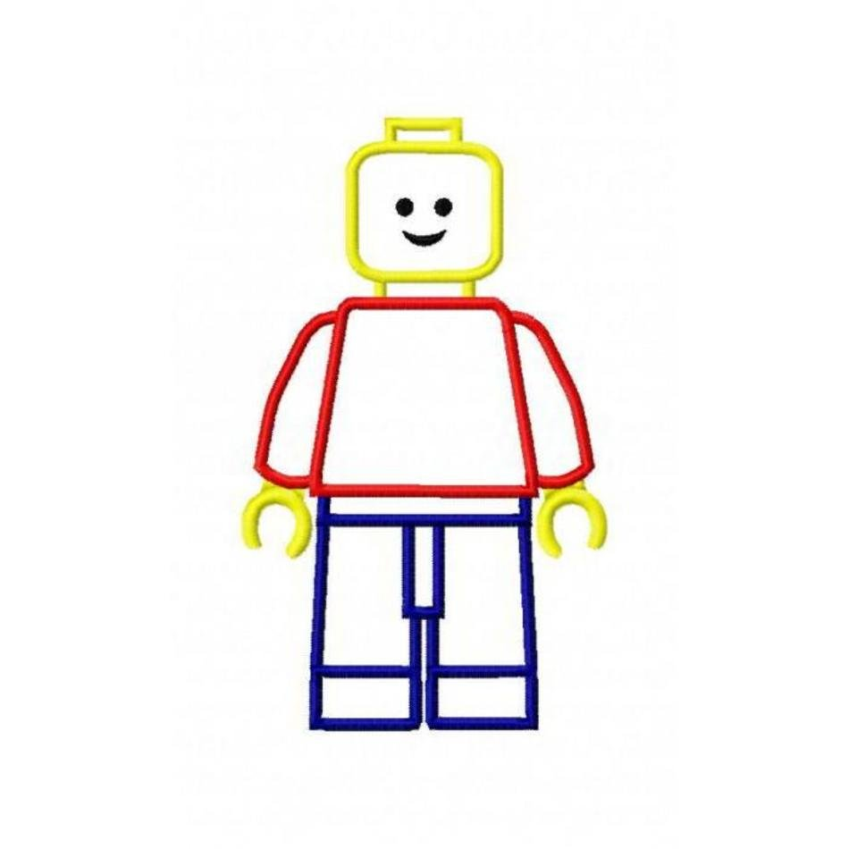LEGO Man Clip Art N18 free image.