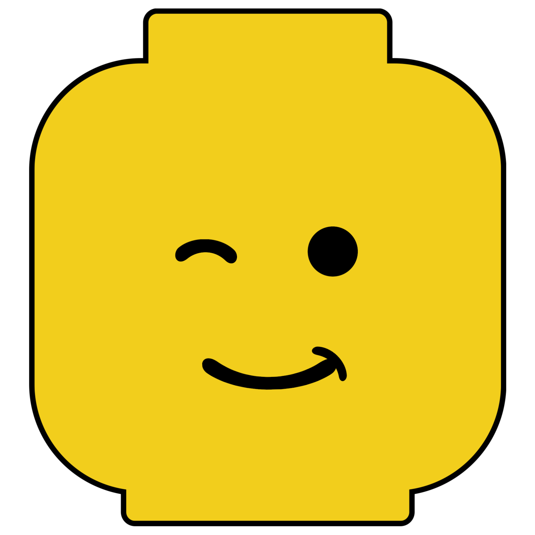 Blank lego man clipart images gallery for free download.