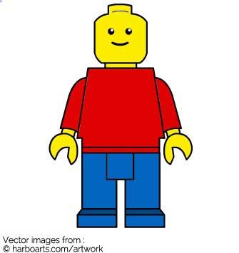 Download : Lego Man.