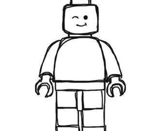 Free Lego Man Black And White, Download Free Clip Art, Free.