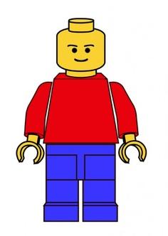 Lego Minifigure Clipart.