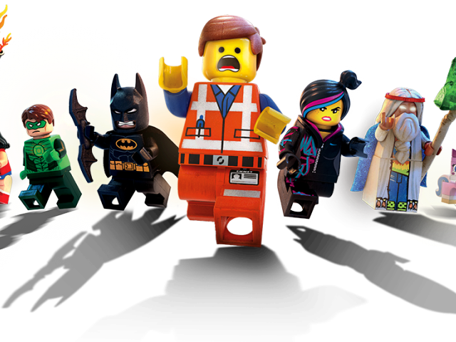 The Lego Movie Clipart Characters.