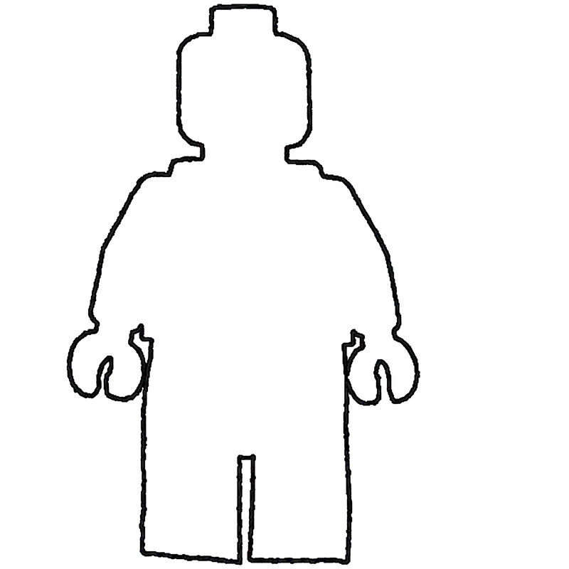Free Lego Person Outline, Download Free Clip Art, Free Clip.