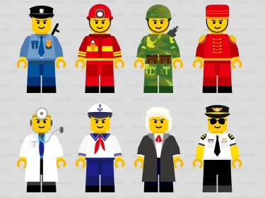 Lego Character Digital Clipart 2.