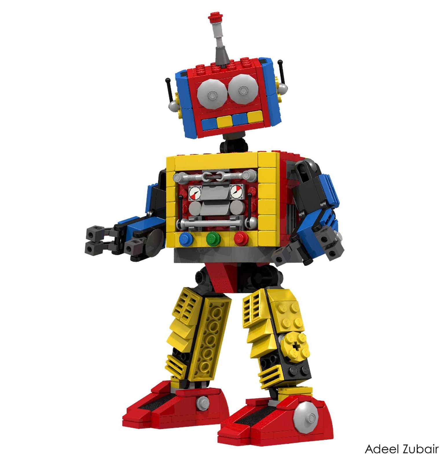 Lego Robot Clipart#2016818.