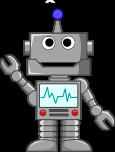 Robot Waving Clip Art at Clker.com.