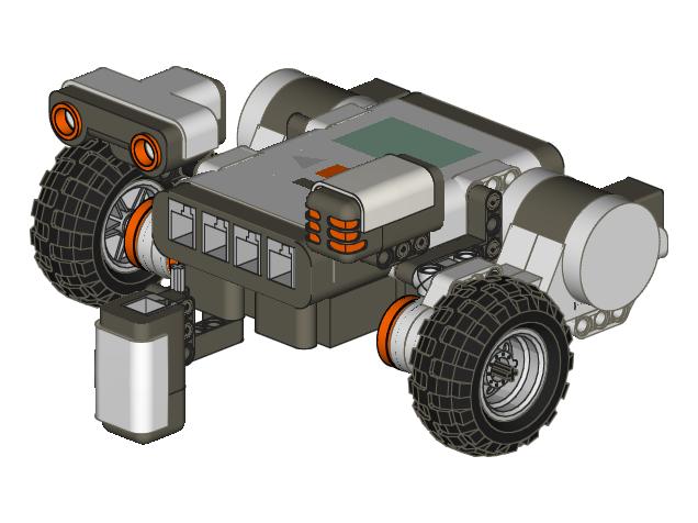 Lego Robotics Clipart.